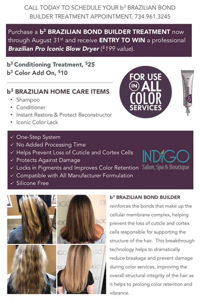 Specials And Savings Indigo Salon Spa Boutique Canton Mi
