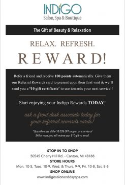 Indigo Salon, Spa & Boutique Specials03